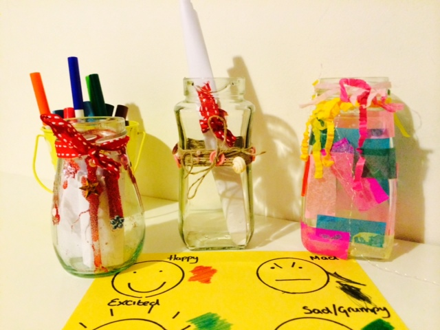 Craft Ideas for Kids - Communication Jar