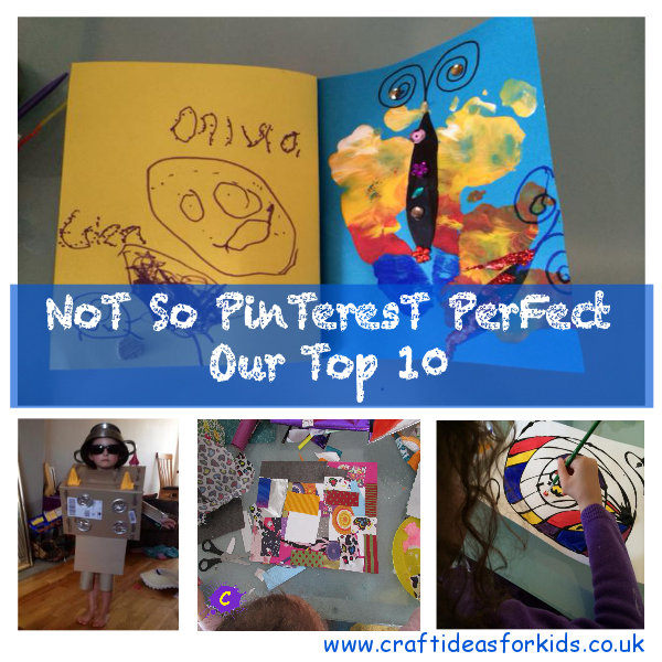 Not So Pinterest Perfect Our Top 10 Craft Ideas For Kids