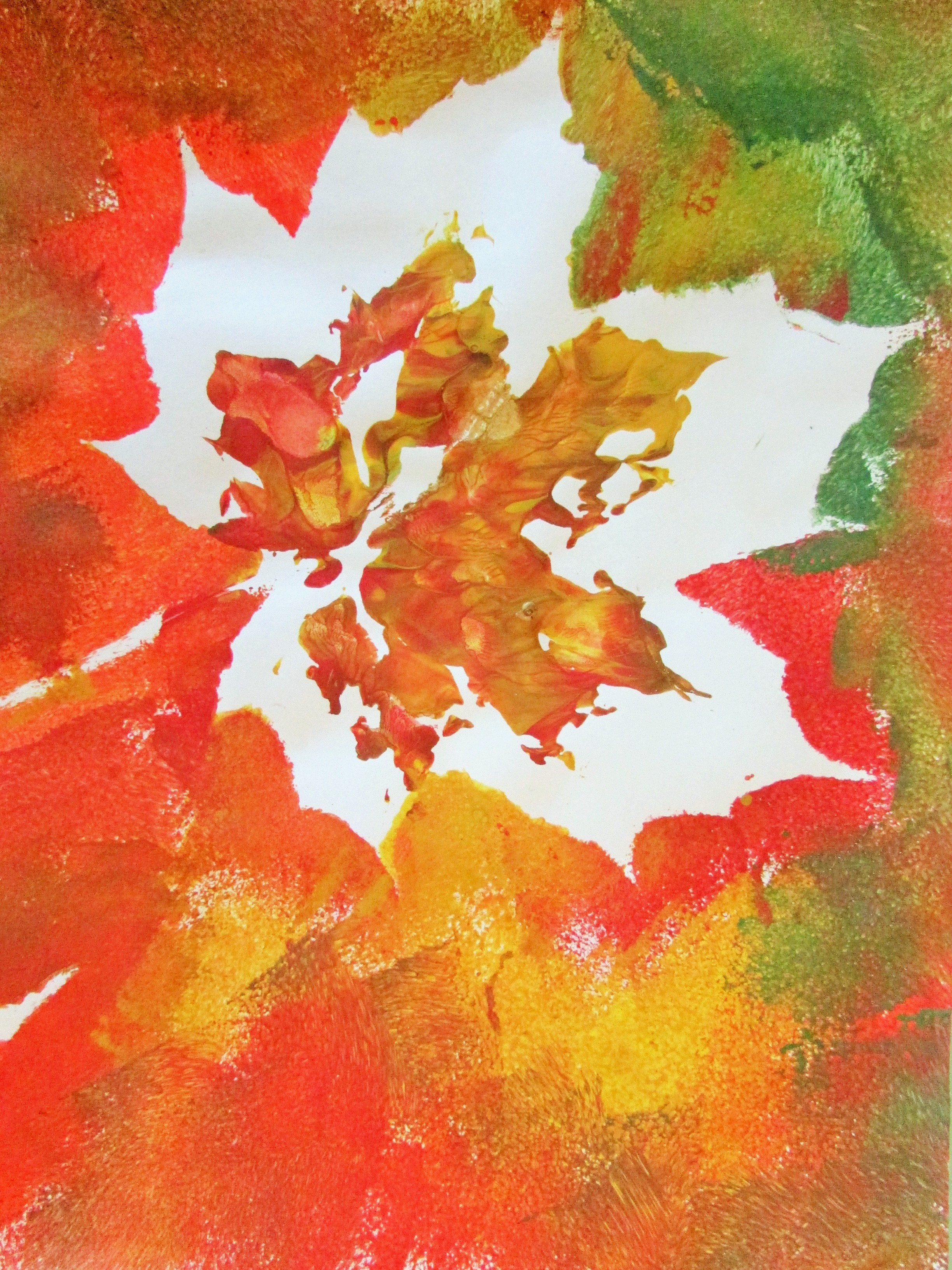 autumn leaf painting craft ideas for kids