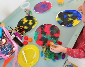 Craft Ideas for Kids - Paper Plate Monsters