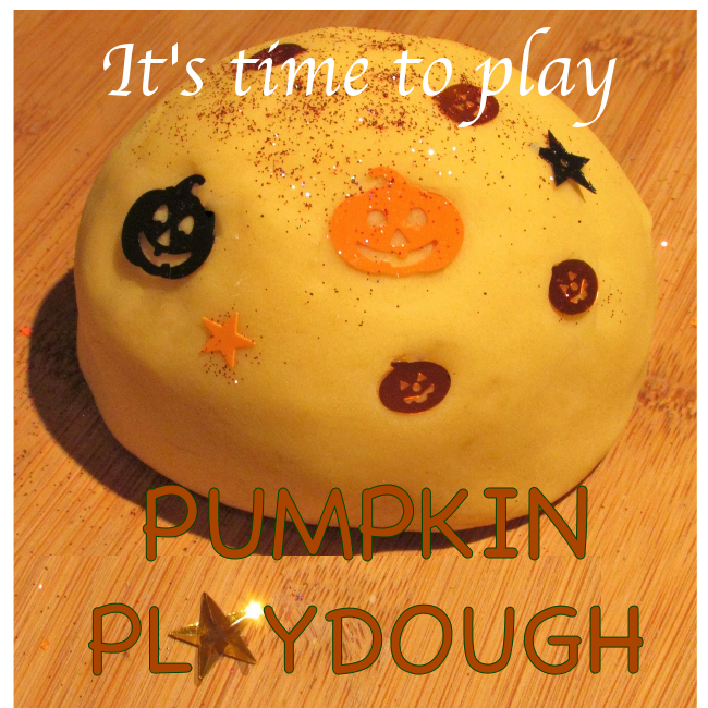 Craft Ideas for Kids - Pumpkin PlayDough