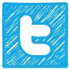 Twit Social Button Sq