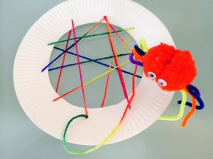 Craft Ideas for Kids - Incy Wincy Spider