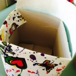 Craft Ideas for Kids - Stationary box