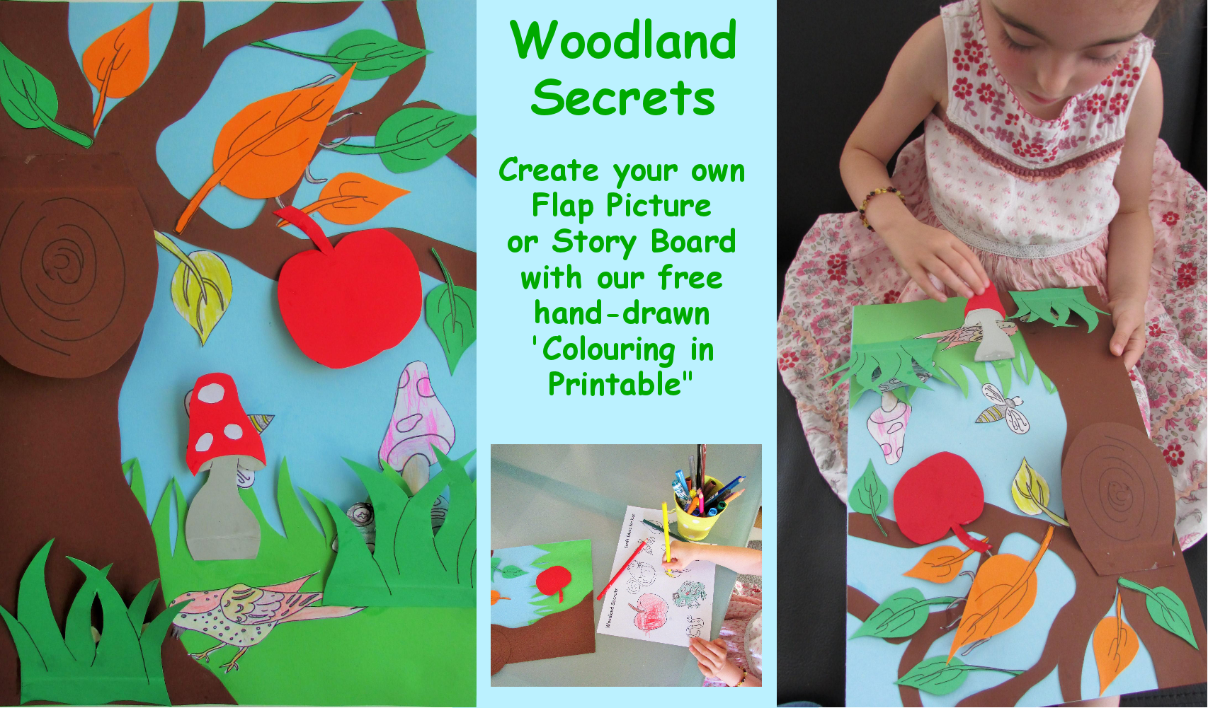 Craft Ideas for Kids - Woodland Secrets