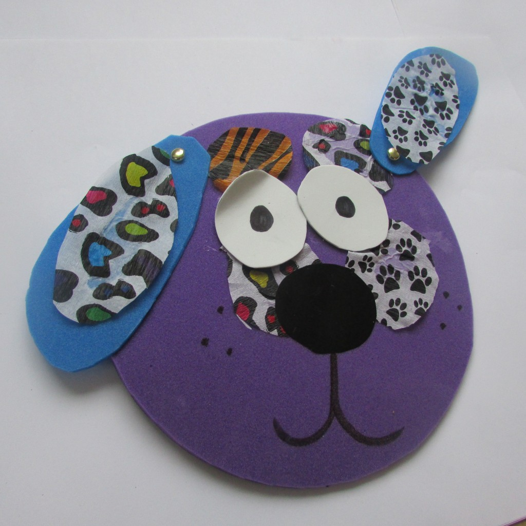 Craft Ideas for Kids - Foam Animal Faces