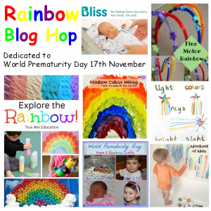 Craft Ideas for Kids - Rainbow Blog Hop